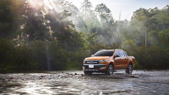 Ford Ranger sẽ được trình làng tại Frankfurt