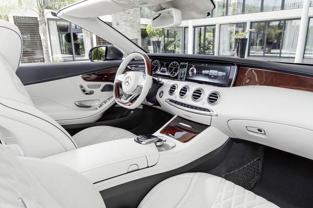 Mercedes-Benz S-Class Cabrio 2016 - xe mui trần hạng sang