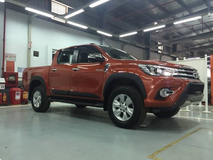 Lộ ảnh nóng của Toyota Hilux sắp ra mắt Việt Nam?