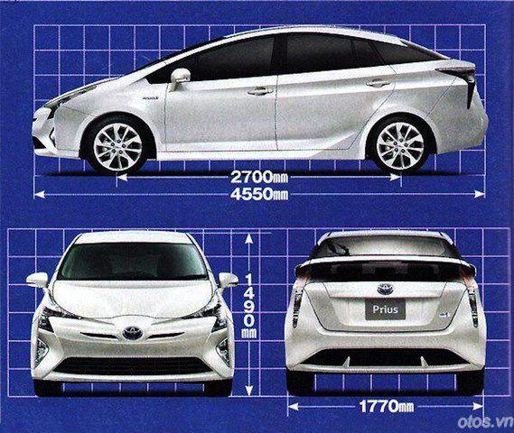 Toyota Prius 2016 với mức tiêu thụ nhiên liệu ấn tượng