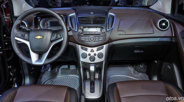 Xe Chevrolet Trax - ẩn số tại VMS 2015