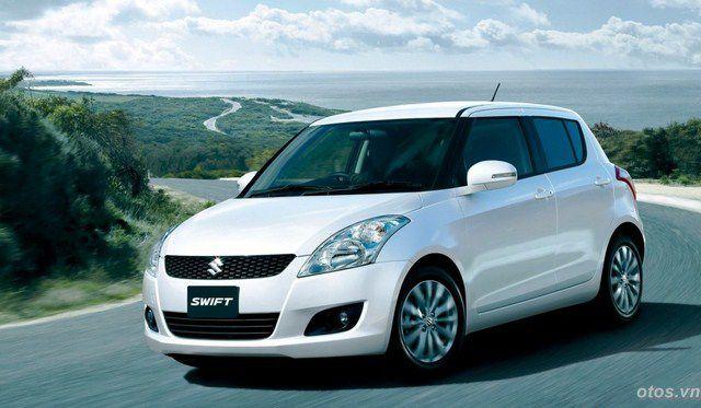 Triệu hồi 1.311 xe oto Suzuki Swift tại Việt Nam