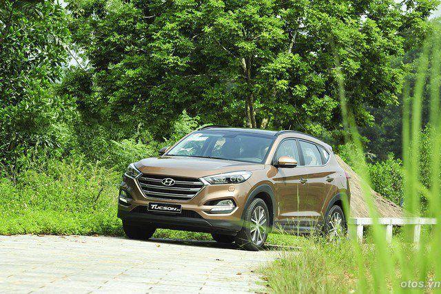 Xe Hyundai Tucson 2016 - Crossover mạnh mẽ