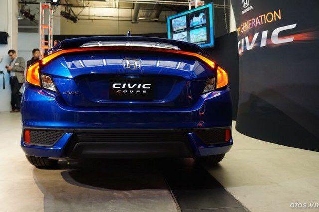 Xe oto Honda Civic 2016 và 7 thay đổi lớn ở thiết kế