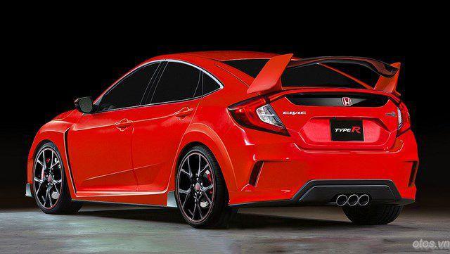 Xe oto Honda Civic Type R 2017 khoe ảnh nóng