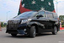Cận cảnh xe sang Toyota Alphard