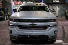 Chevrolet Silverado - xe bán tải phong cách lính