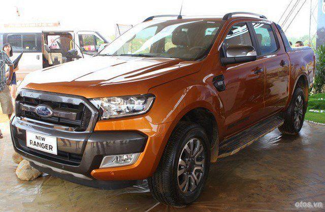 Ford Ranger - xe bán chạy nhất tháng 11