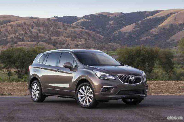 Xe Buick US-spec Envision lộ ảnh nóng