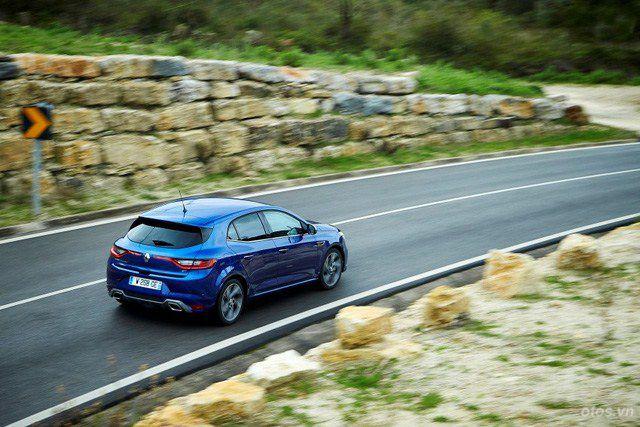 Xe Renault Megane - hatchback đẹp mắt